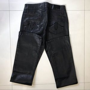 Level 99 Jeans - Black Slim Bootcut Jeans